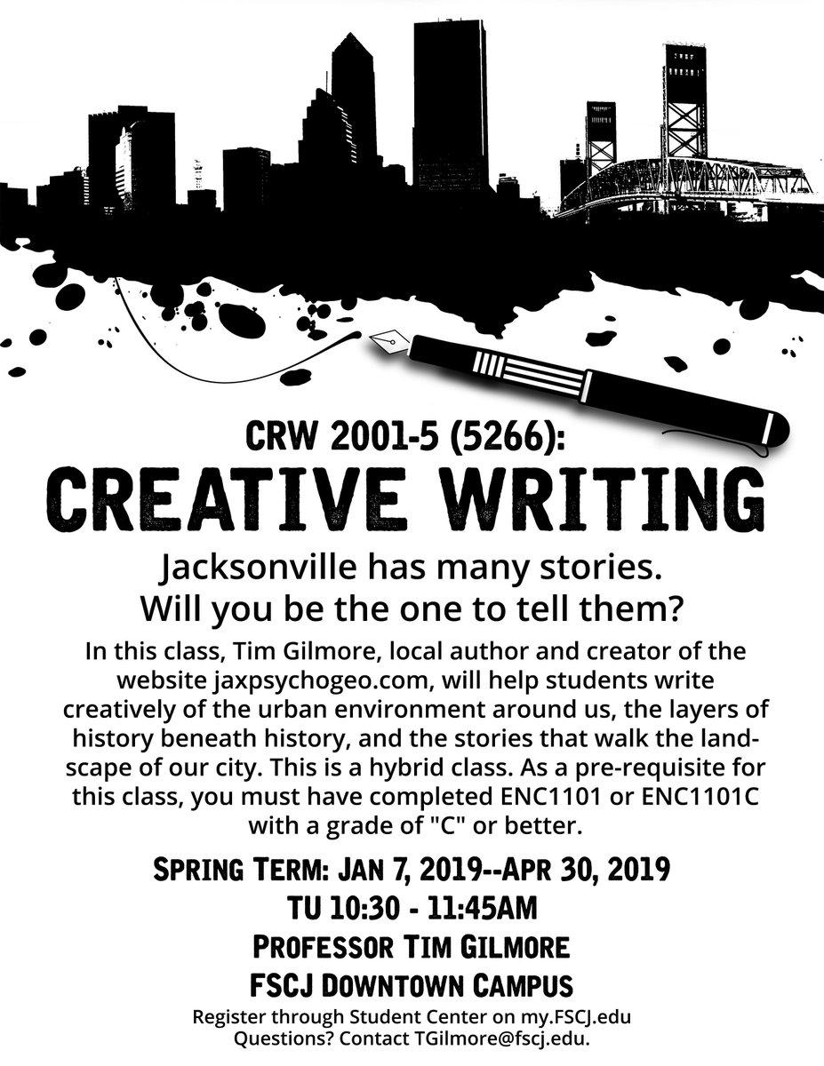 creative writing fscj
