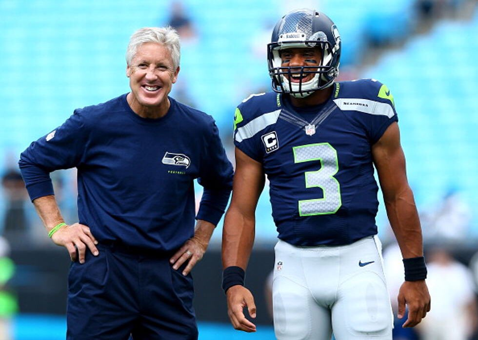 Congrats Coach @PeteCarroll on being the Winningest Coach in Seattle @Seahawks Franchise History.   Grateful for who you are as a Coach, Person, &amp; Friend.   #WinningIsAHabit<br>http://pic.twitter.com/A5O4Tof46E
