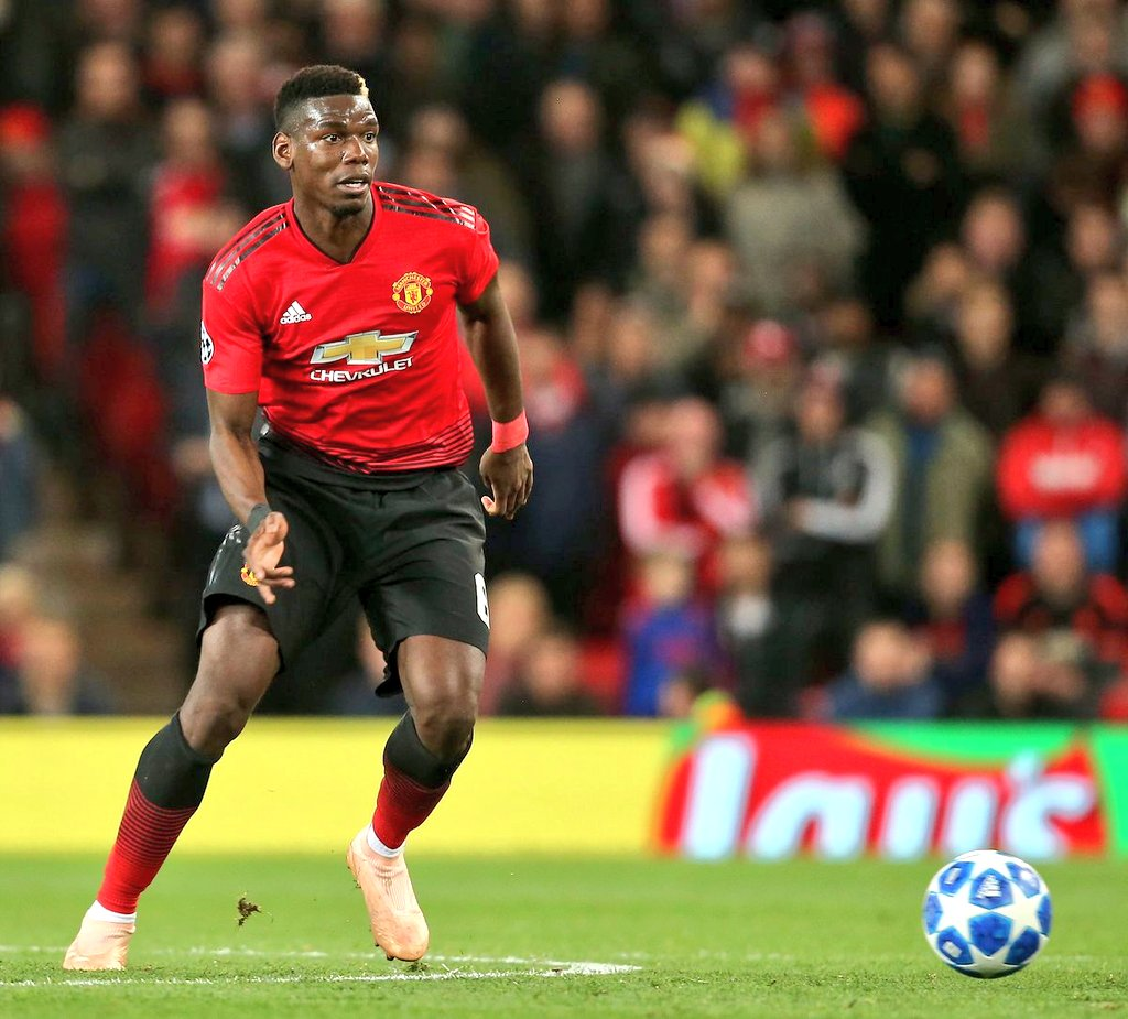 Paul Pogba for Manchester United (2018-19):  • 1st in percentage of forward passes • 1st in chances created • 1st in dribbles completed • 1st in long balls completed • 1st in duels won • 2nd in passes completed • 2nd in assists • 3rd in goals • 4th in tackles