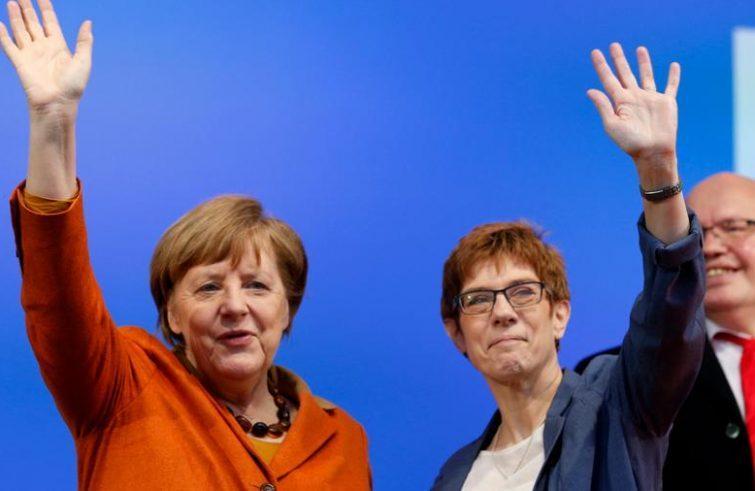 "#Germany: CDU's ""beneficial"" Congress. #Merkel - #KrampKarrenbauer continuity https://t.co/pKyDvNyJtN"