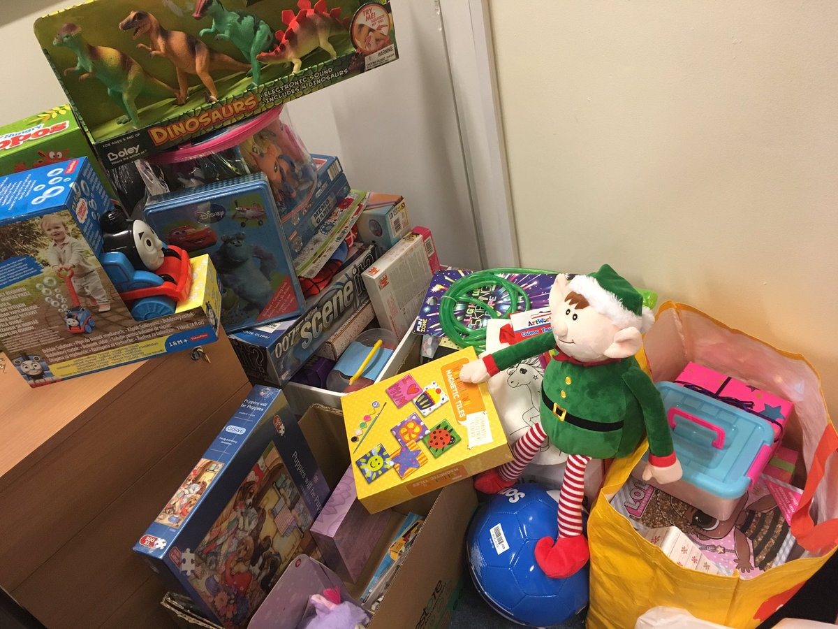 Eddie the Elf has been putting his elf skills to good use today and has been helping us sort through all the lovely toys that have been donated for #MissionChristmas But Eddie the Elf thinks we need more!! #EddietheElf #elfontheshelf #christmas2018 #Doncaster #DoncasterIsGreat