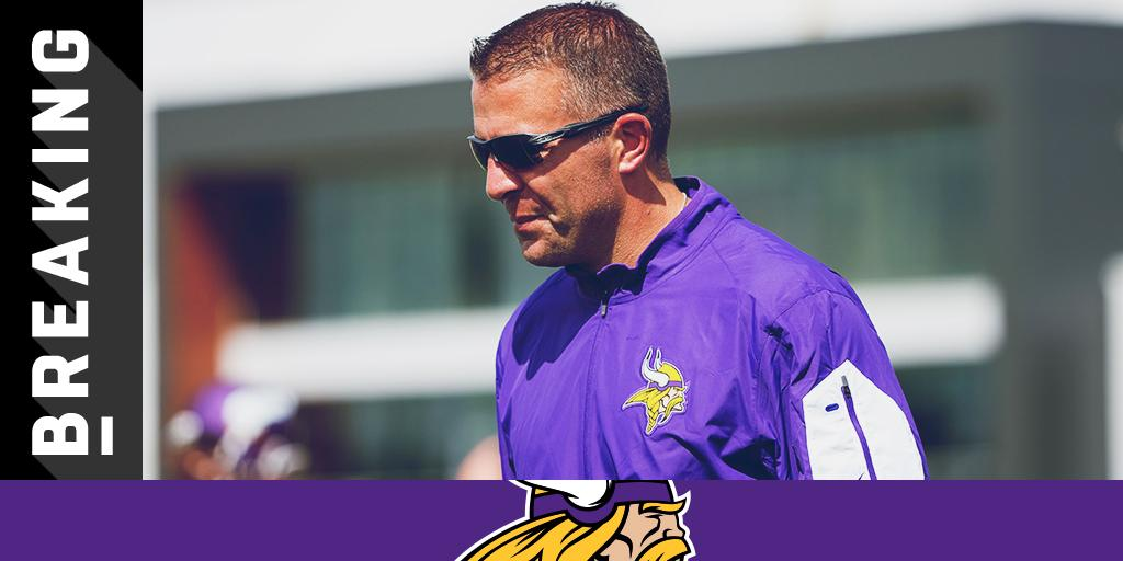 .@Vikings fire OC John DeFilippo: https://t.co/HknQHLU5lG (via @RapSheet) https://t.co/W510PL9vDh