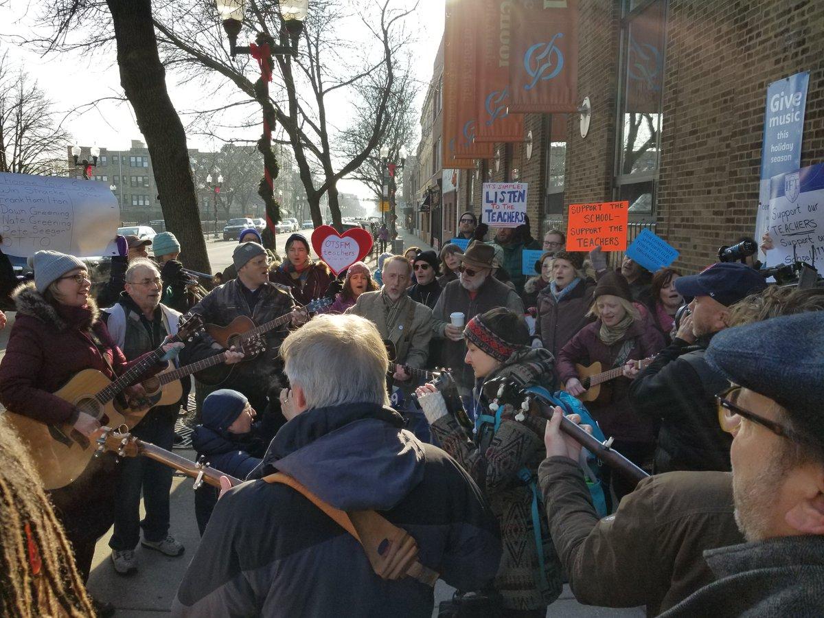 OTS teachers rally
