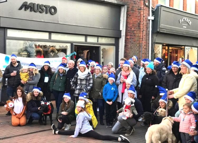 #Christmas Cheer For Biggest Ever @emctrust Jingle Bell Walk 😁🙌 thanks for being awesome ho-ho-hosts @mustoclothing 🎅 https://t.co/3IhYKq7CWw #CharityTuesday #festivefundraising #confidenceaftercancer