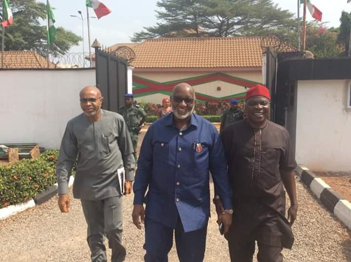 Arriving Southeast PDP ZEC meeting in #Enugu<br>http://pic.twitter.com/jk5CxEhcvW
