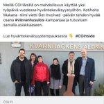 Image for the Tweet beginning: Meidän posse pääsi kentälle. #cgi