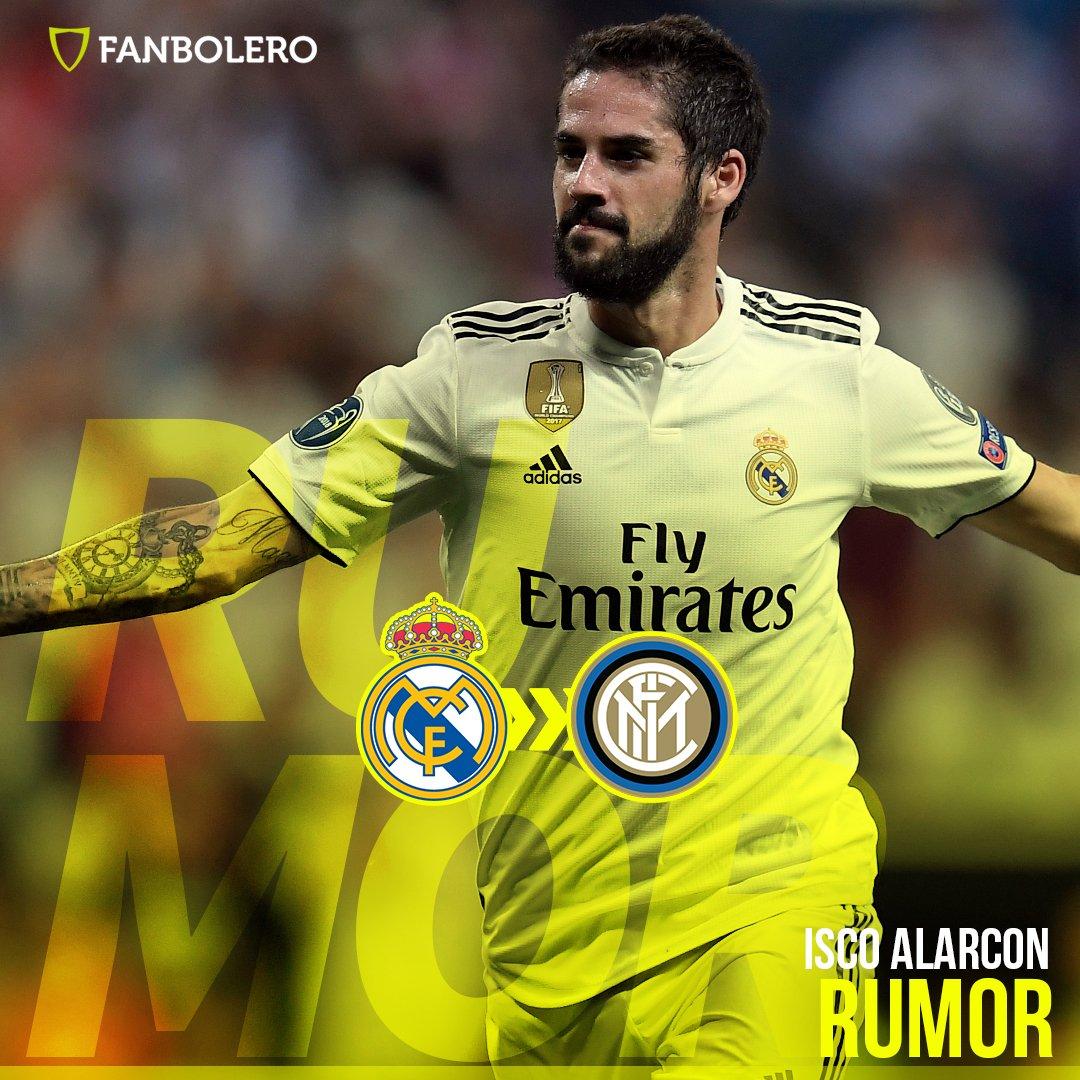 De acuerdo a información del diario Tuttosport, el mediocampista español llegaría al Giuseppe Meazza, si el Real Madrid confirma el fichaje de Exequiel Palacios 😨🇪🇸⚽️🇮🇹 #Isco #Inter #Rumor #SoyFanbolero