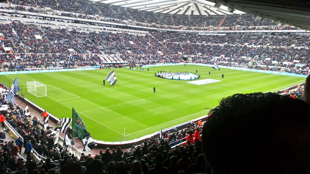 The Times have conducted an average attendance since 1992 & ranked #NUFC the third largest for attendance, behind Manchester United & Arsenal. Despite not winning anything, they claim that is outperforming the teams success. Clearly.