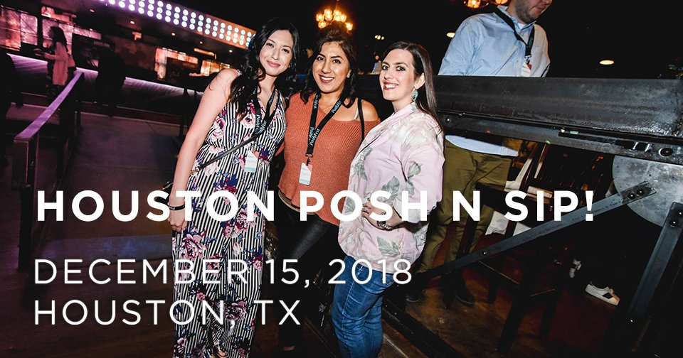 Hey Texas, are you ready to Posh N Sip? Come party with your PFFs in Houston! https://t.co/fRlLRD5BcI
