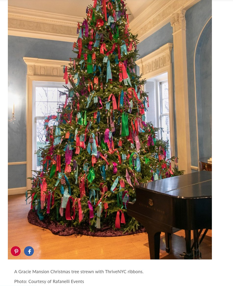 Laura Nahmias On Twitter A Gracie Mansion Christmas Tree Strewn