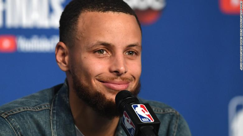 NASA has offered to give NBA superstar Steph Curry a tour of one of its lunar labs after the Golden State Warriors guard said that he doubts humans landed on the moon https://cnn.it/2RX0DKI