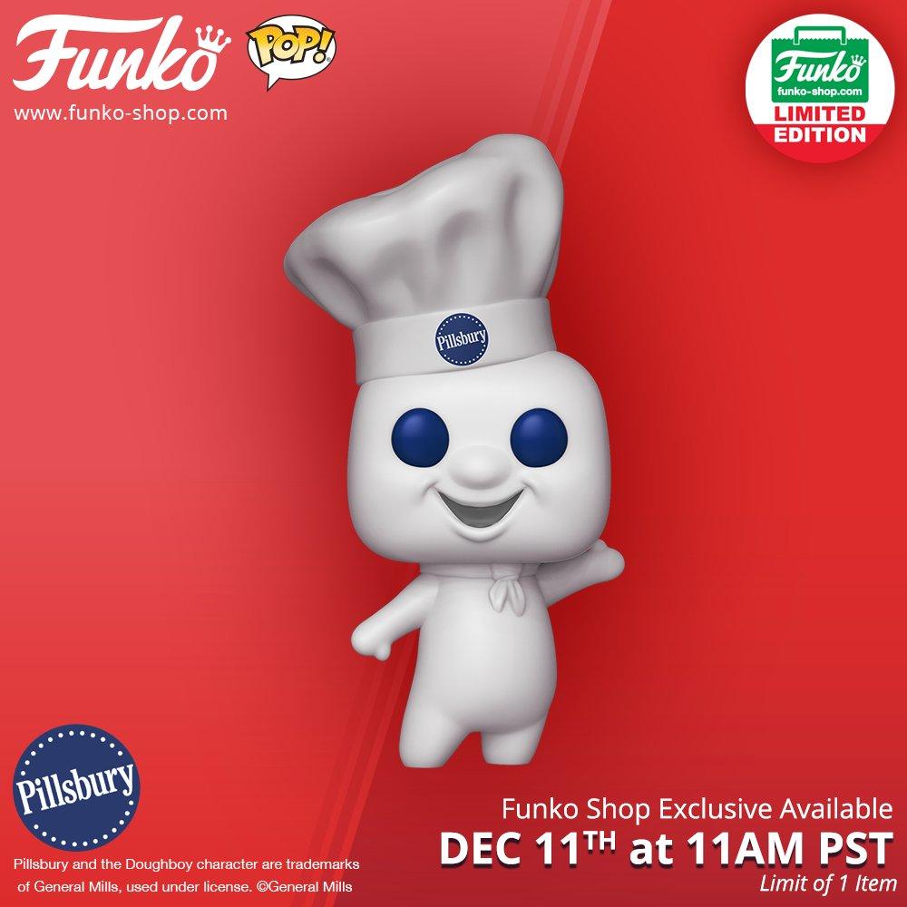Funko On Twitter Funko Shop S 12 Days Of Christmas Pillsbury