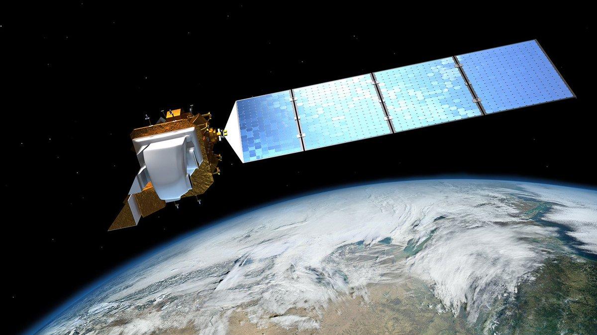 Animation of Landsat 8 over Earth's polar regions