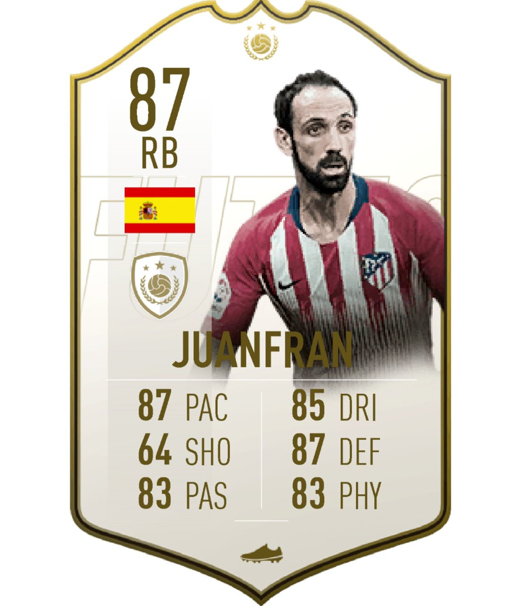 Hi @EASPORTSFIFA, wondering if you could release an Icon SBC soon.  Nothing big either. Maybe a cheeky Juanfran?  *Insert puppy eyes here*  #FIFA19 #FUT #FUTMAS #IconSBC