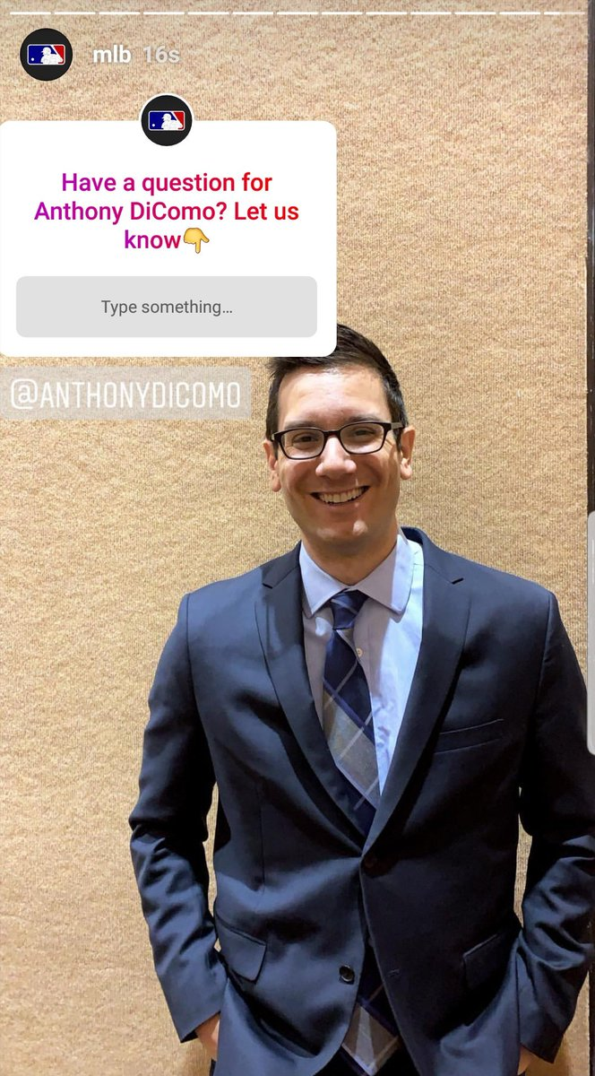 Anthony Dicomo On Twitter I M On Mlb S Instagram Story Answering Your Mets Questions Right Now Head On Over There To Ask Away Anthony dicomo from mlb.com joins evan to talk about david wright, the mets rotation & what the team may do at the top of the order. twitter