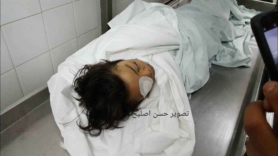 Israelis can now rest. Israel has finally slaughtered 5 year old Ahmed abu Abed, who was shot in the eye by Israeli snipers last friday.  #GreatReturnMarch<br>http://pic.twitter.com/WnOD0QjeW8