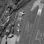 Image for the Tweet beginning: Russian nuclear-capable bomber aircraft fly