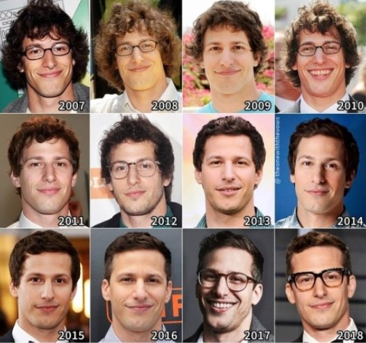Tv Time On Twitter How To Glo Up The Andy Samberg Way