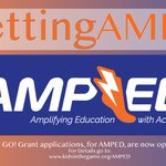 Happy Holidays! Our AMPED up GO! Grant is OPEN!  ...  2018 GO! Grant cycle features our newest program AMPED Apply here: https://t.co/R3WAe4SjoN #GettingAMPED #GOGrants