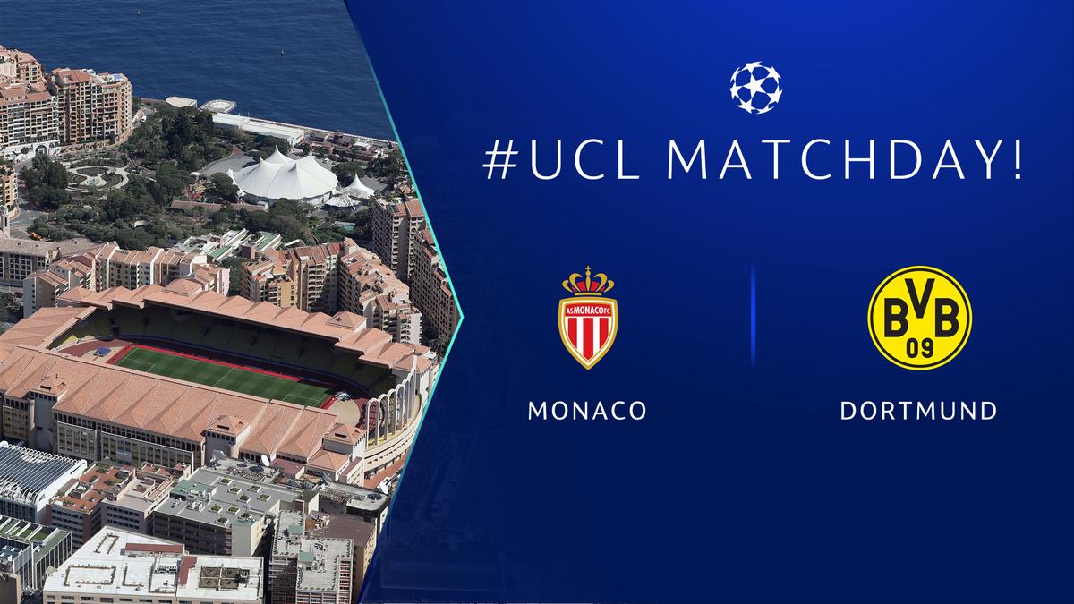#UCL Matchday! 🙌🎉⚽️  @AS_Monaco 🆚 @BVB        #ASMBVB LIVE 👉 https://bit.ly/2Qs9R4A