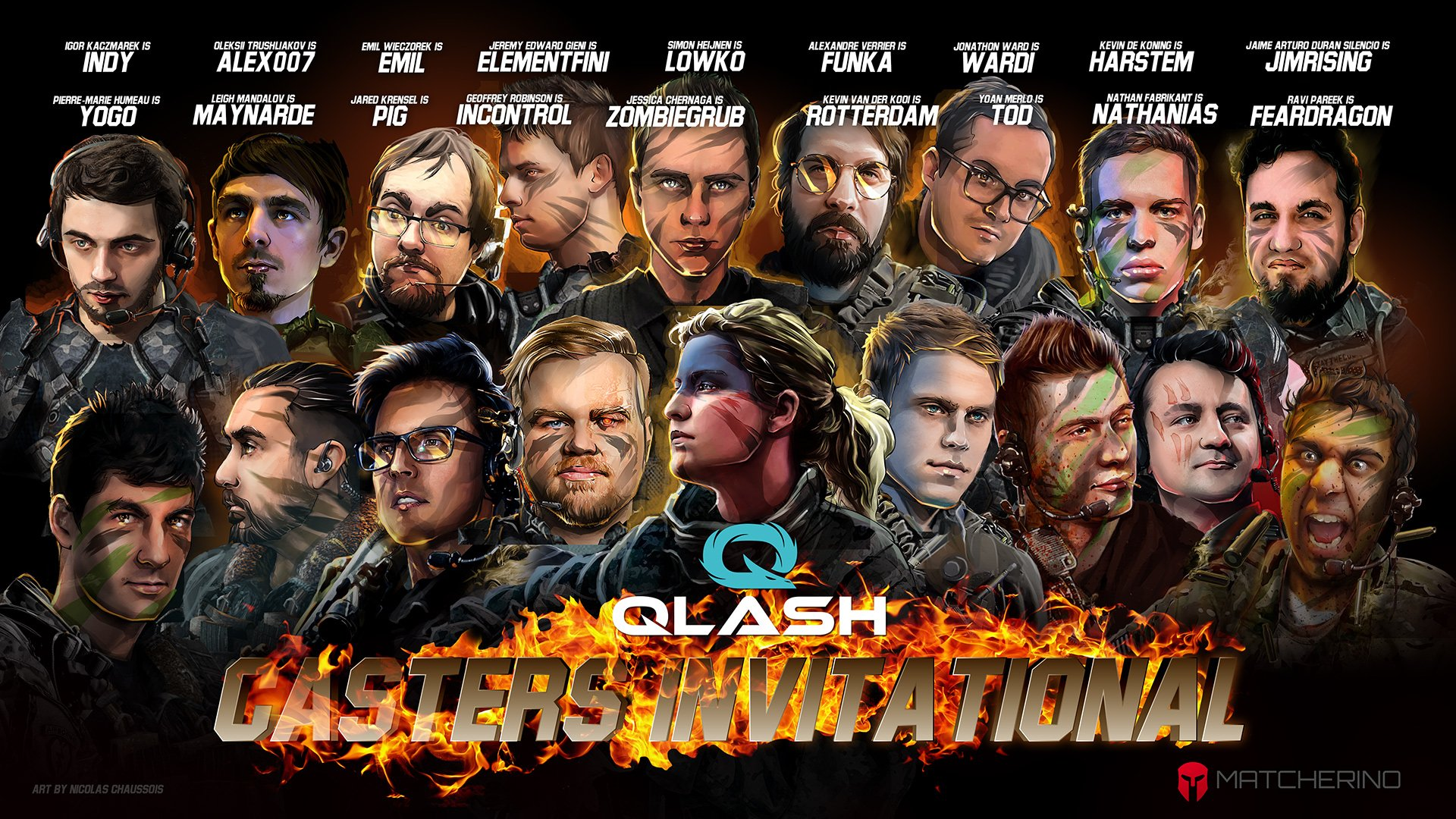 QLASH Casters Invitational
