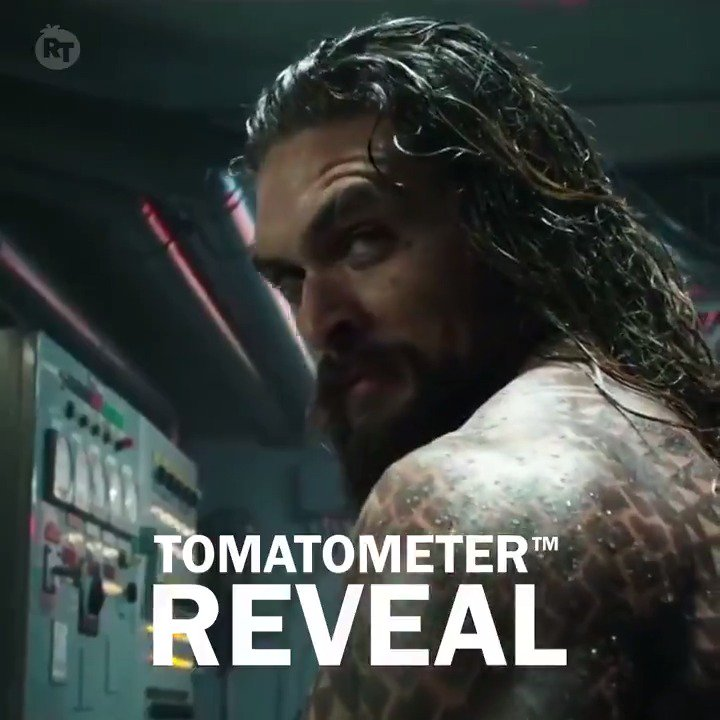 The first reviews for #Aquaman have washed ashore - currently its #Fresh at 78% on the #Tomatometer, with 46 reviews: rottentomatoes.com/m/aquaman_2018…