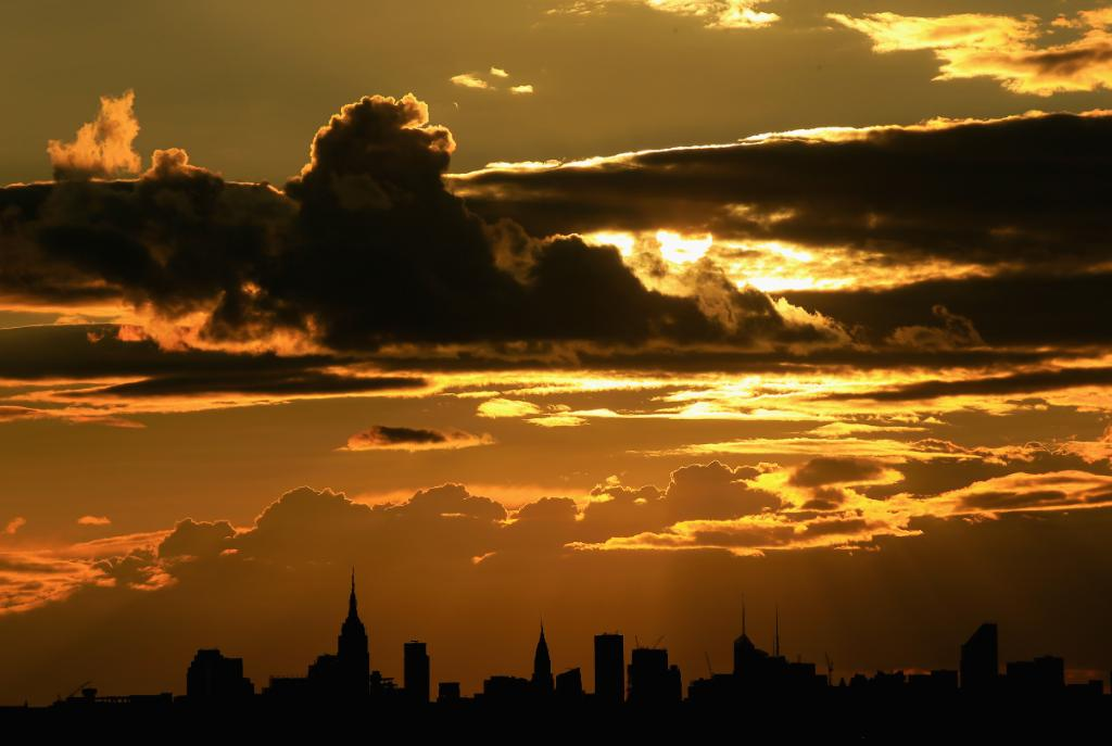 Take us back to those summer sunsets... 🌇🗽🎾 #USOpen