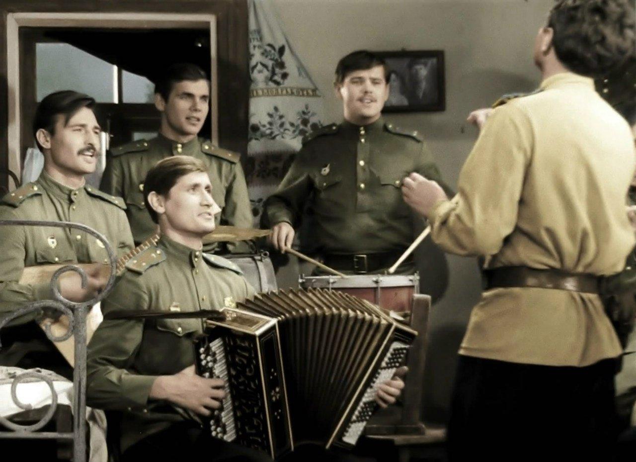 Картинки из фильма в бой идут одни старики, николаем открытки