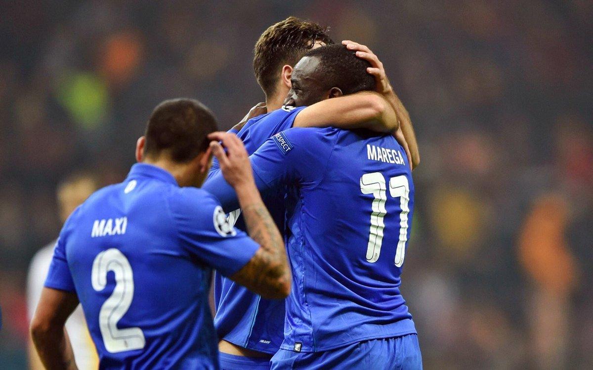 #UCL Group D FT: Galatasaray 2-3 Porto ⚽️ Felipe 17' ⚽️ Marega (penalty) 42' ⚽️ Feghouli (penalty) 45' ⚽️ Oliveira 57' ⚽️ Derdiyok 65' ❌ Feghouli missed penalty 67'