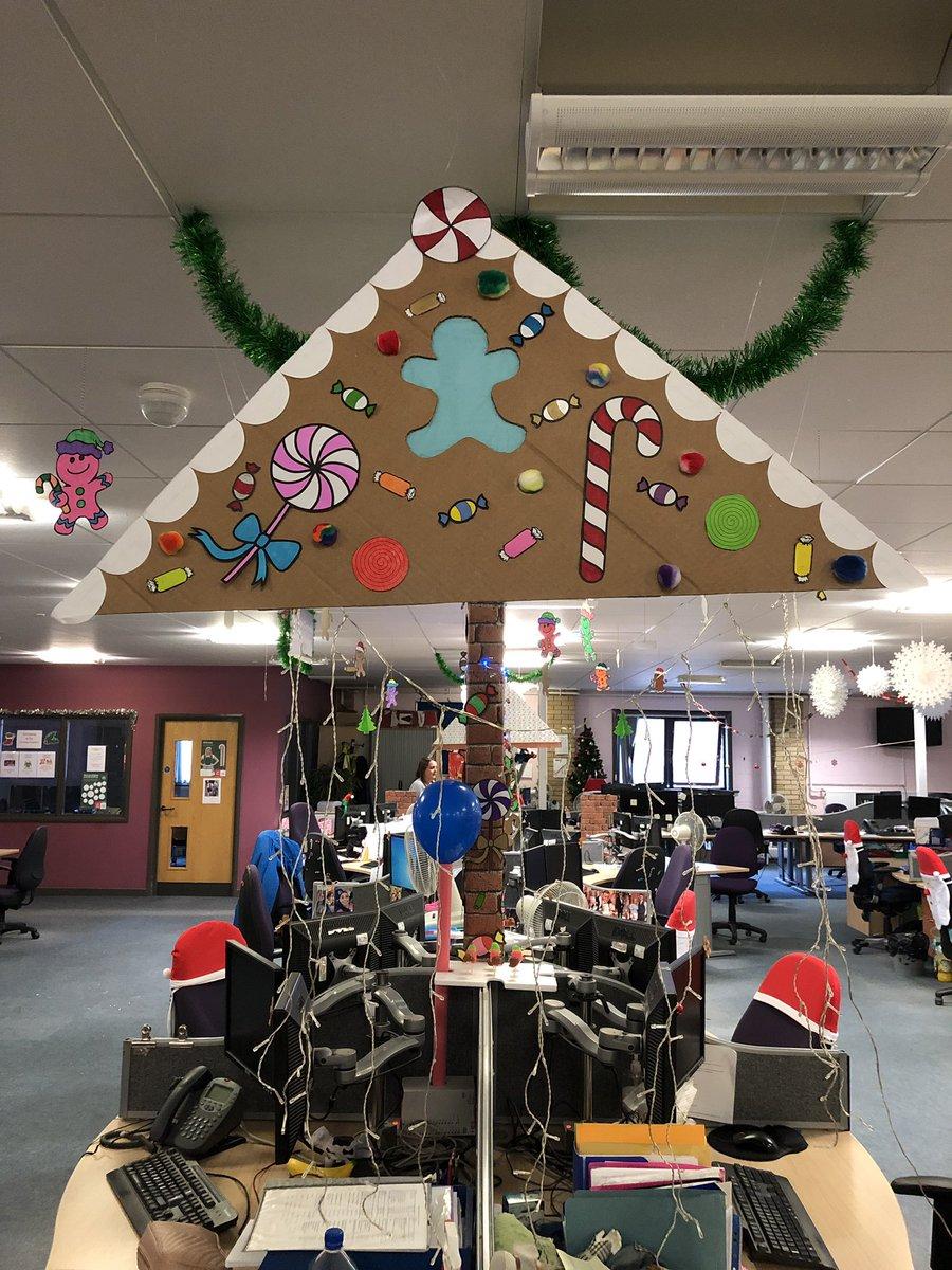 Lynne Clarke On Twitter Home Made Office Christmas
