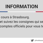 Image for the Tweet beginning: Événement en cours à #Strasbourg