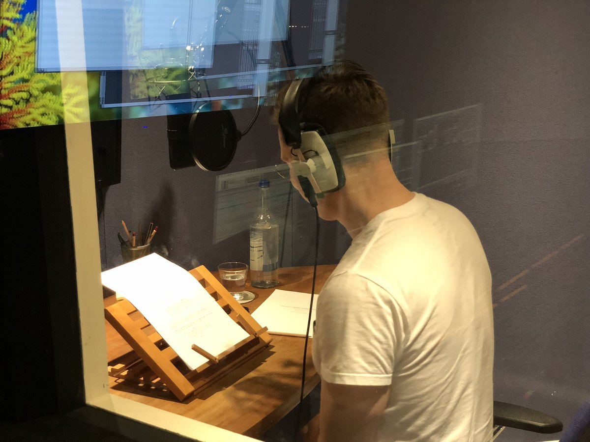 Who's this in an ADR booth? #NewCase