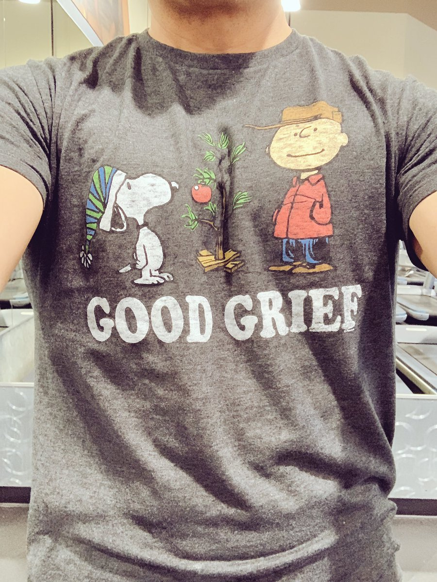 Another festive gym shirt! @Snoopy