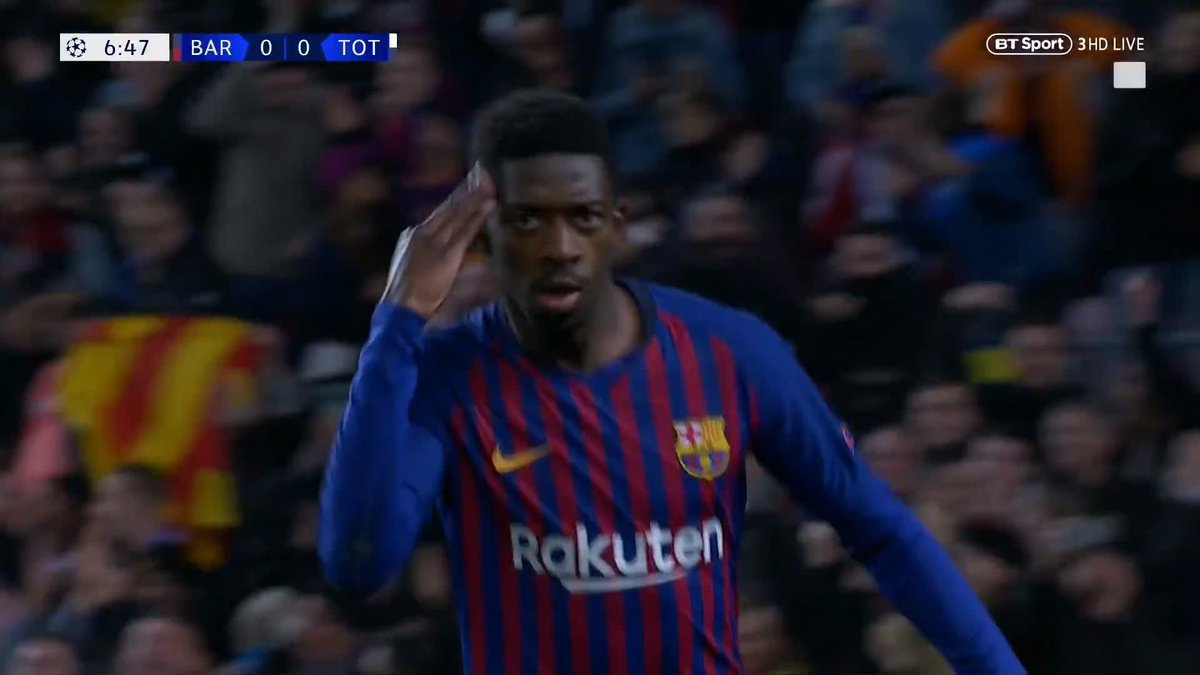 It's a nightmare start for Spurs...  From a free-kick in an attacking area to conceding a goal in seconds 👀  Ousmane Dembele, absolutely ruthless ⚡️