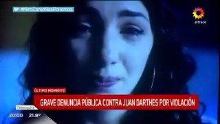 ACTRICES UNIDAS Acompañan la denuncia penal de Thelma Fardin contra Juan Darthes por acoso y abuso. #MeToo