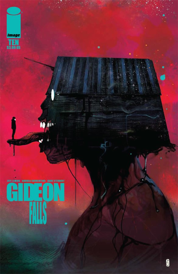 looks like my Gideon Falls variant is in the wild