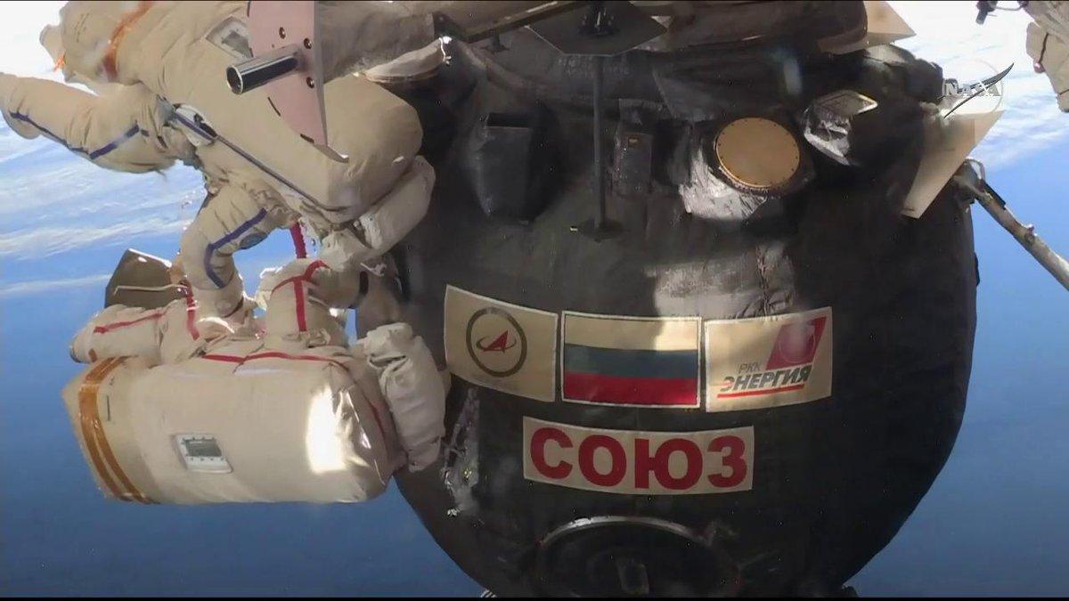 Intl. Space Station's photo on Soyuz
