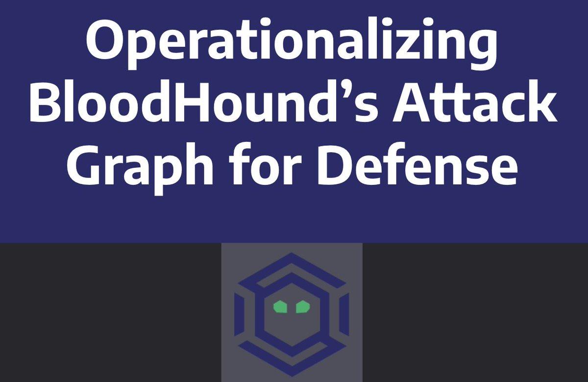 Our #BloodHound defense webinar is now online!  Video:  https:// register.gotowebinar.com/register/50128 87211059506187 &nbsp; …  Deck:  https:// docs.google.com/presentation/d /1xCvkwuP8v7N4Pzy_o6S3DLqMvi8W2aNJSEFhIWcR0Zc/edit#slide=id.g35f391192_00 &nbsp; …  BH Slack:  http:// bloodhoundgang.herokuapp.com / &nbsp;  <br>http://pic.twitter.com/DYskPcRmMO