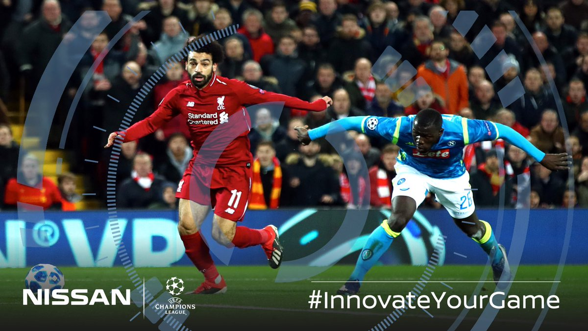 Power + Pace = Qualification. 🔥 #LIVNAP #UCL #InnovateYourGame 🧠⚽️