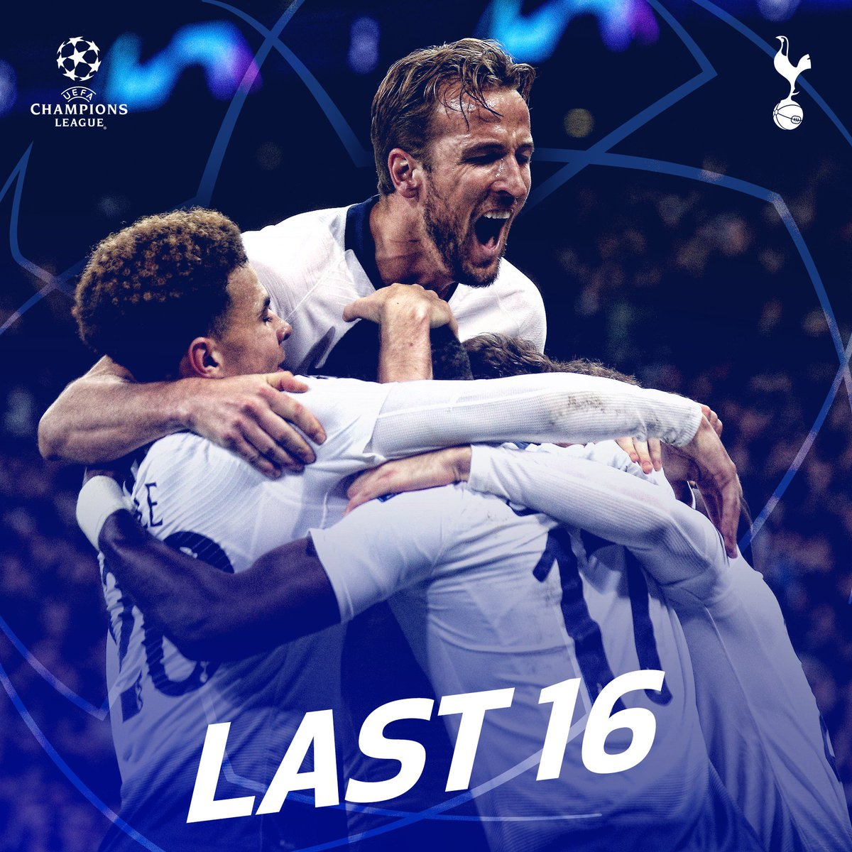 YES! YES! YES!   @ChampionsLeague Last 16, we're coming!   #COYS