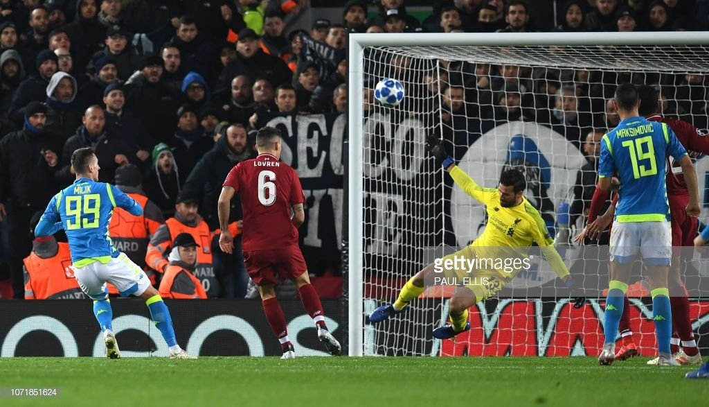 ...and on the 8th day, God created @Alissonbecker. #LFC #LIVNAP #ChampionsLeague #Anfield