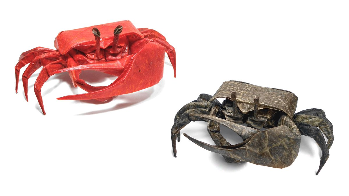 Fiddler Crabs Designed By Brian Chan And Folded By Mariano Zavala B