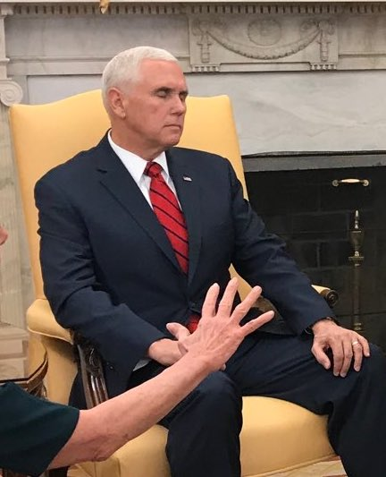 Everyone is laughing at Pence today, but this country really deserves better than someone who thinks he can simply pray his way out of an uncomfortable situation. He's not a Jedi.