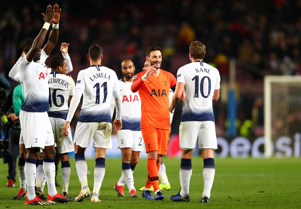 What a performance from the lads. Did more than enough to win the game but going through was the aim so job done! Bring on the draw. #COYS #THFC #UCL