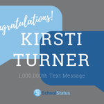 Image for the Tweet beginning: Congratulations to Kirsti Turner from