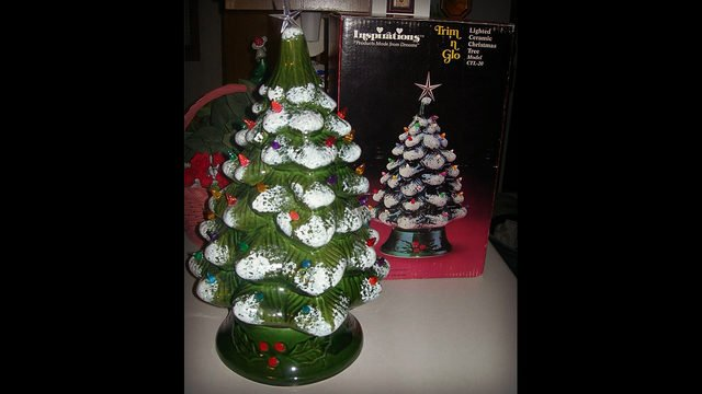Wsb Tv On Twitter Those Vintage Ceramic Christmas Trees Might Be