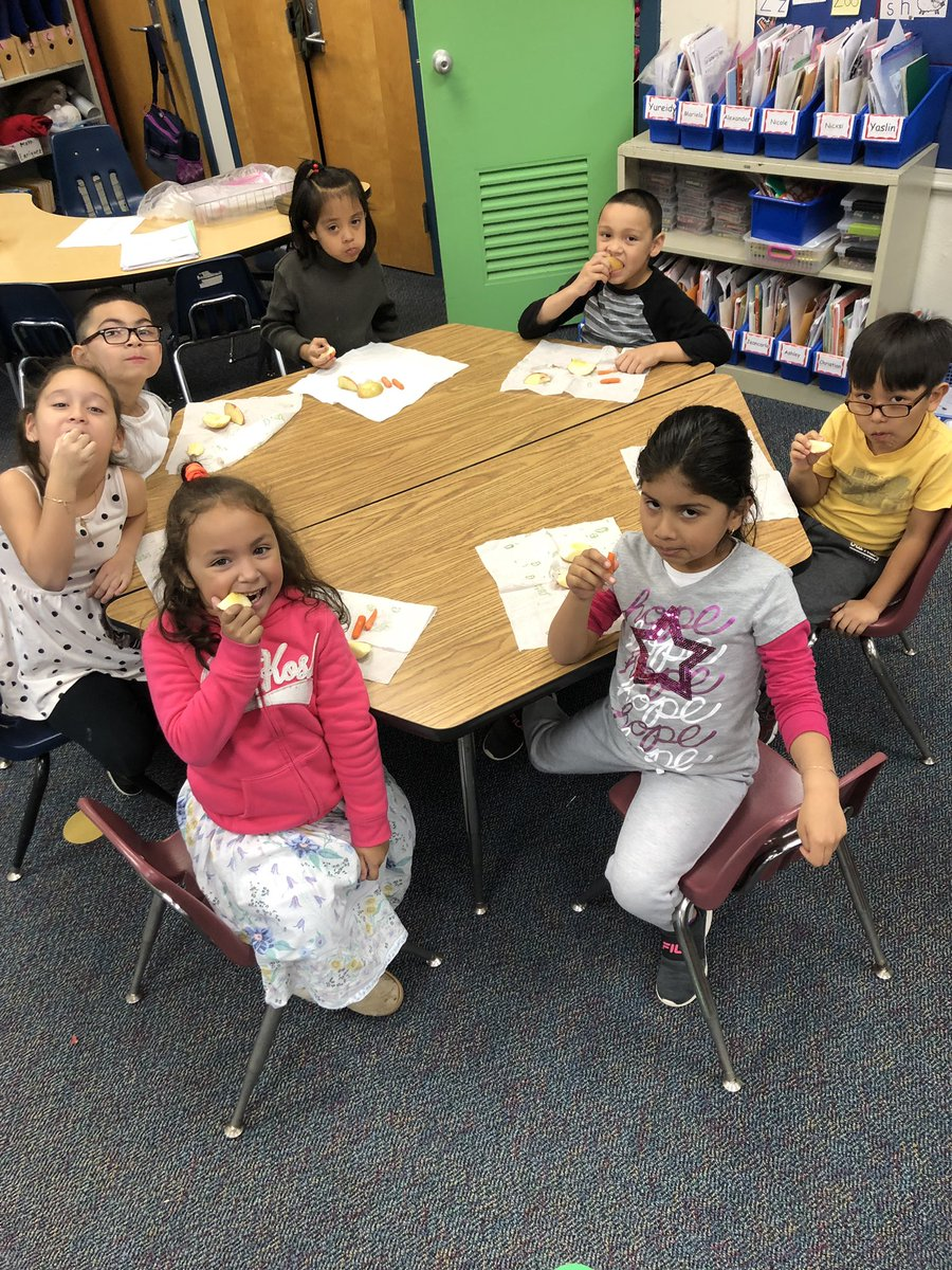 Day 7 - Seven kids eating healthy snacks <a target='_blank' href='http://search.twitter.com/search?q=ClassRoomContest'><a target='_blank' href='https://twitter.com/hashtag/ClassRoomContest?src=hash'>#ClassRoomContest</a></a> <a target='_blank' href='http://twitter.com/ArlingtonVaFD'>@ArlingtonVaFD</a> <a target='_blank' href='http://search.twitter.com/search?q=KWBPride'><a target='_blank' href='https://twitter.com/hashtag/KWBPride?src=hash'>#KWBPride</a></a> <a target='_blank' href='https://t.co/4kGnUsSEpF'>https://t.co/4kGnUsSEpF</a>
