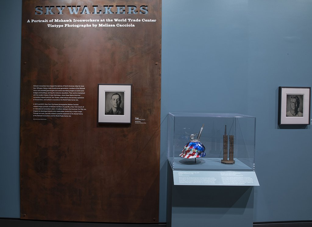 Kahnawake Council Chief Lindsay LeBorgne, Robert Walsh of Local 40 and artist Melissa Cacciola will explore Mohawk ironworkers' contributions to the Twin Towers at the #911MuseumTalk 'Skywalkers' on 12/13 at 7pm at the #911Museum. https://t.co/DzJZGOLmiM