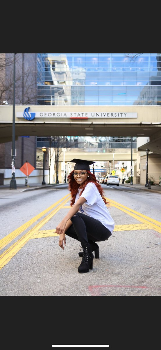 At 7:00 pm I will be graduating from @GeorgiaStateU with a Bachelor of Science in Criminal Justice. Only up from here! #GSU18 <br>http://pic.twitter.com/C28chbd7x1