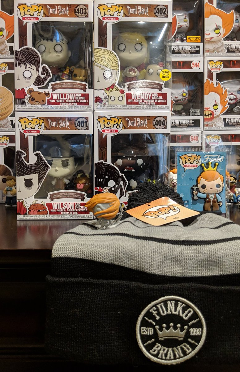 HUGE thank you to @originalfunko for these two awesome prize packs (the first from watching their Twitch stream and the second from listening to the #FunkoFunkast)! Im in love with everything 😍 Especially those beautiful Dont Starve posters made by @klei!